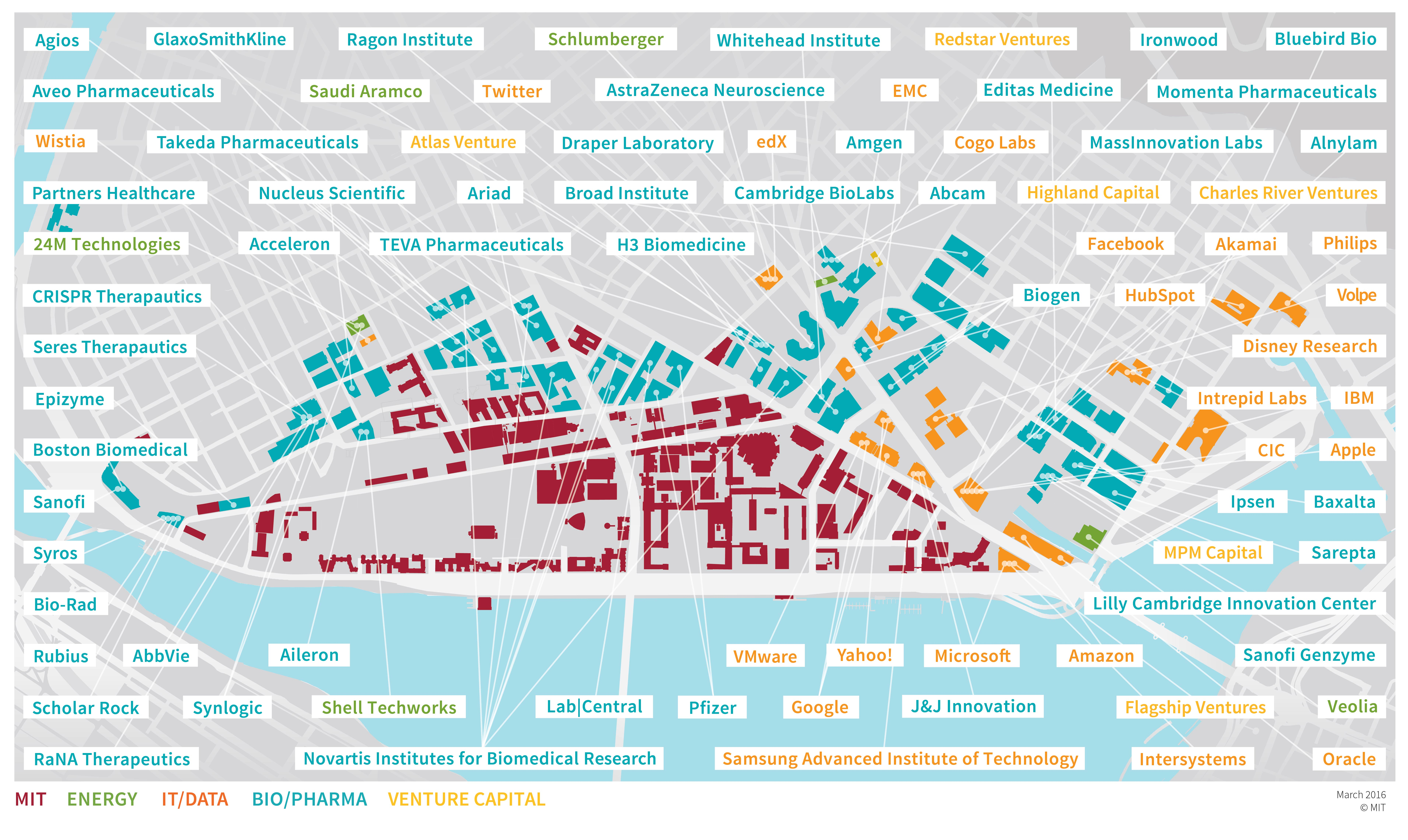 Kendall Square Companies Map
